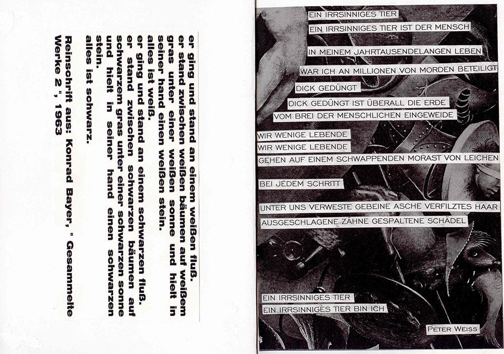 programme page 13-14 (©vogeltanz/entrancexit 1996)