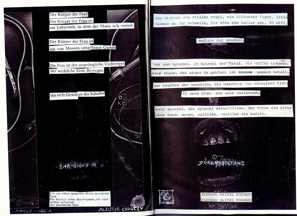 programme page 19-20 (©vogeltanz/entrancexit 1996)