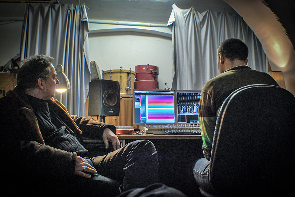 soundtrack mastering session: christian gschier / felix brielmaier