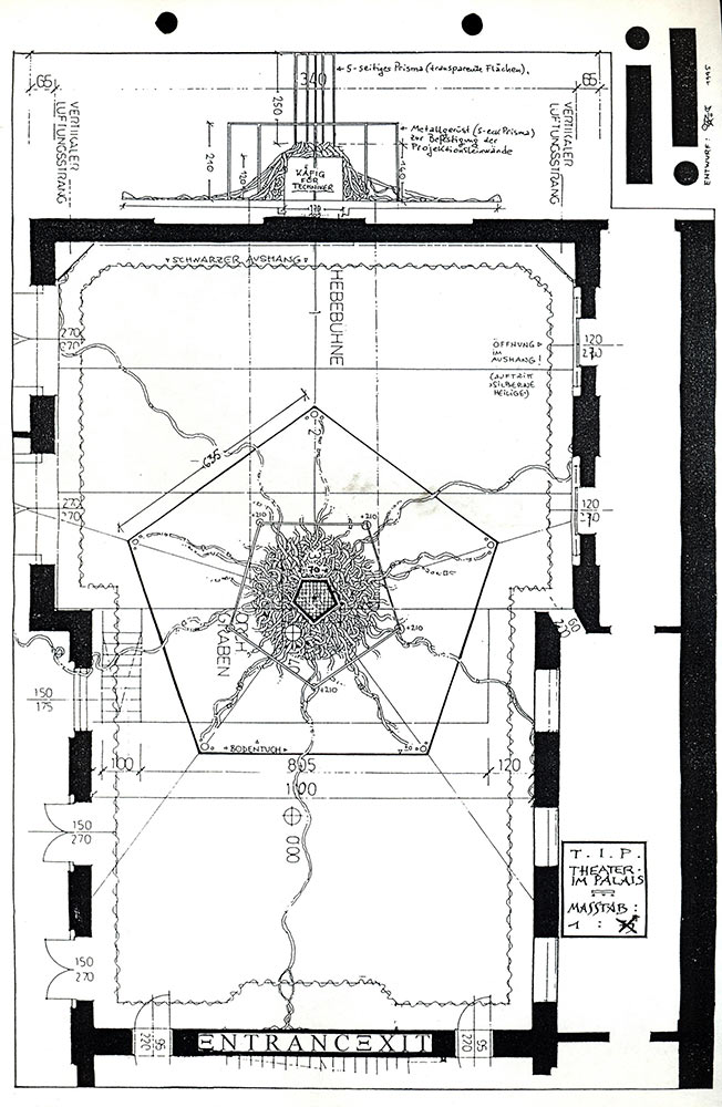 stage design floor plan (jörg vogeltanz 1995)