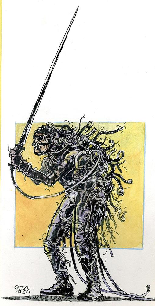costume: warrior (jörg vogeltanz 1995)