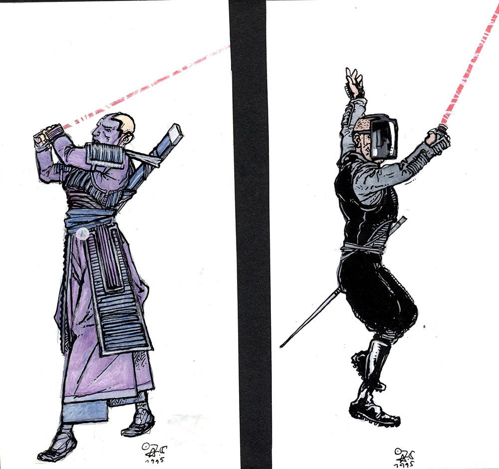 costume: warriors (jörg vogeltanz 1995)
