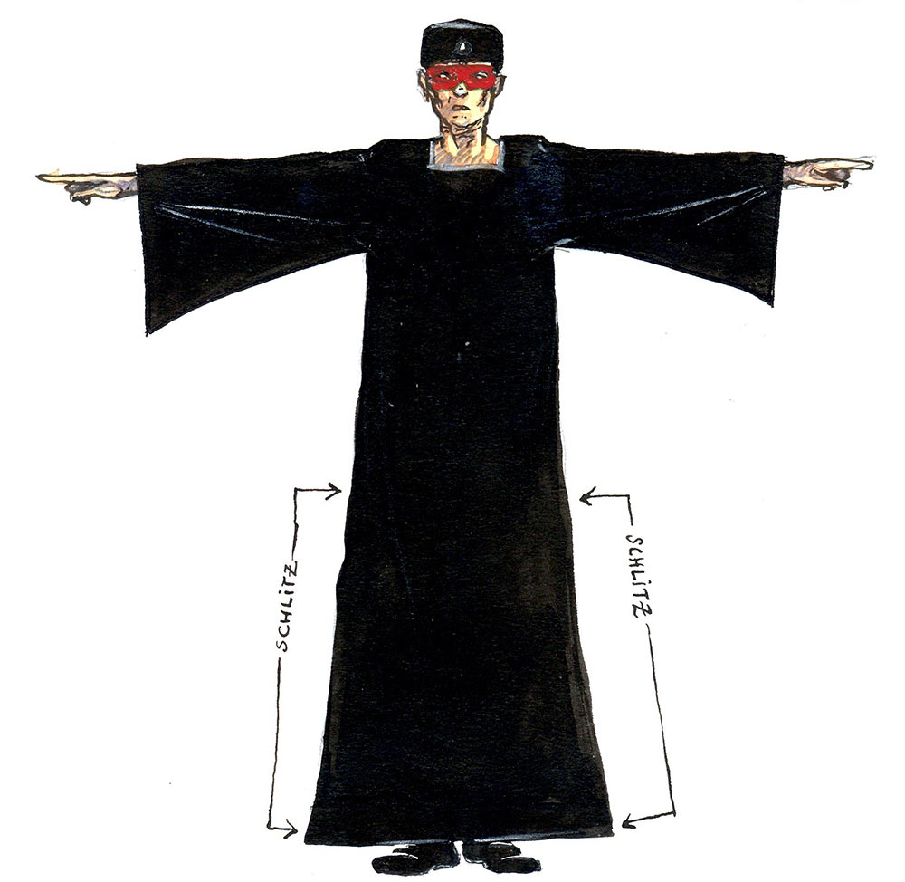 costume: master of ceremonies (jörg vogeltanz 1995)