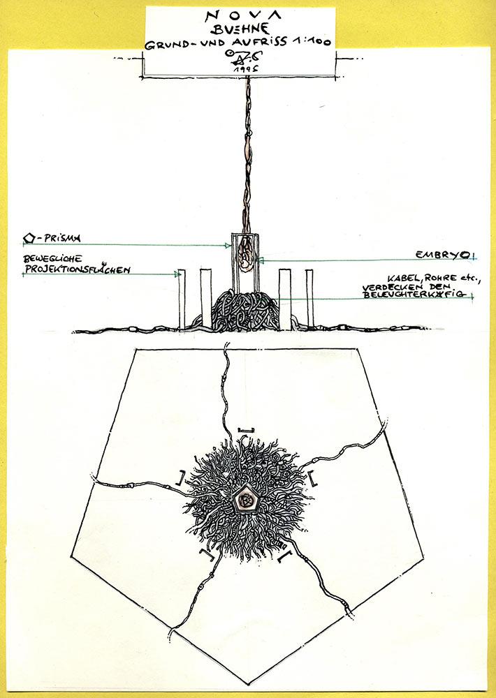 stage design concept art (jörg vogeltanz 1995)